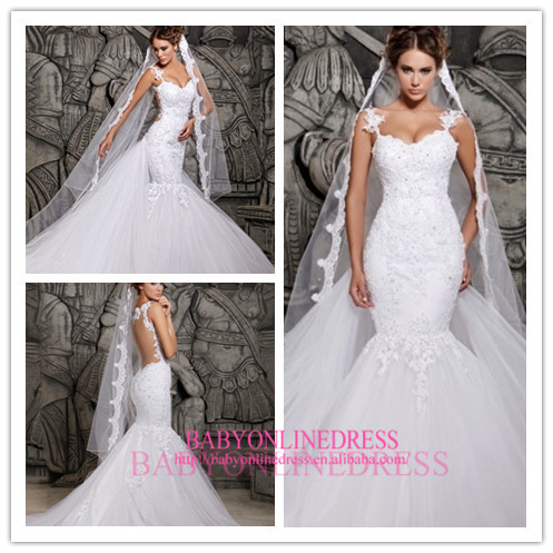 Beautiful Lace Wedding Dresses. Top Wedding Dress Trends For Want ...