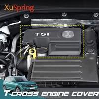 Car 1.4T EA211 Engine Cover Caps Case Protective Lid for VW T cross Tcross 2019 2020 04E103925H 04E103932D