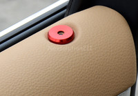 Red Inner Protect Door Lock Pin Pins Cover Trim For Porsche Panamera 970 2010 2015