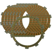 Motorcycle Engines Clutch Friction Plates Kit For SUZUKI GSR600 GSR400 GSR 400 A ABS GSR 600