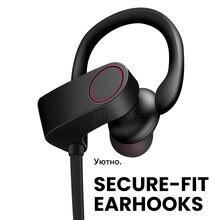 Esvne Спортивные bluetooth наушники с микрофоном активным шумоподавлением