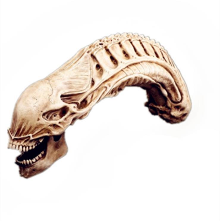 할로윈 무서운 동물 두개골, 수 지 동물 동상, 프레데터 두개골 장식, 외계인 장식 수 지 조각, 홈 장식-에서동상 & 조각품부터 홈 & 가든 의  그룹 1