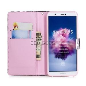 Image 2 - Роскошный кожаный флип чехол для Huawei Honor 20, 7C Pro, 8S, 8A, 8X, 7A, 7X, 7S, 10 Lite, 10i DUA L22 YAL, звеньевой бумажник, сумки с цветком