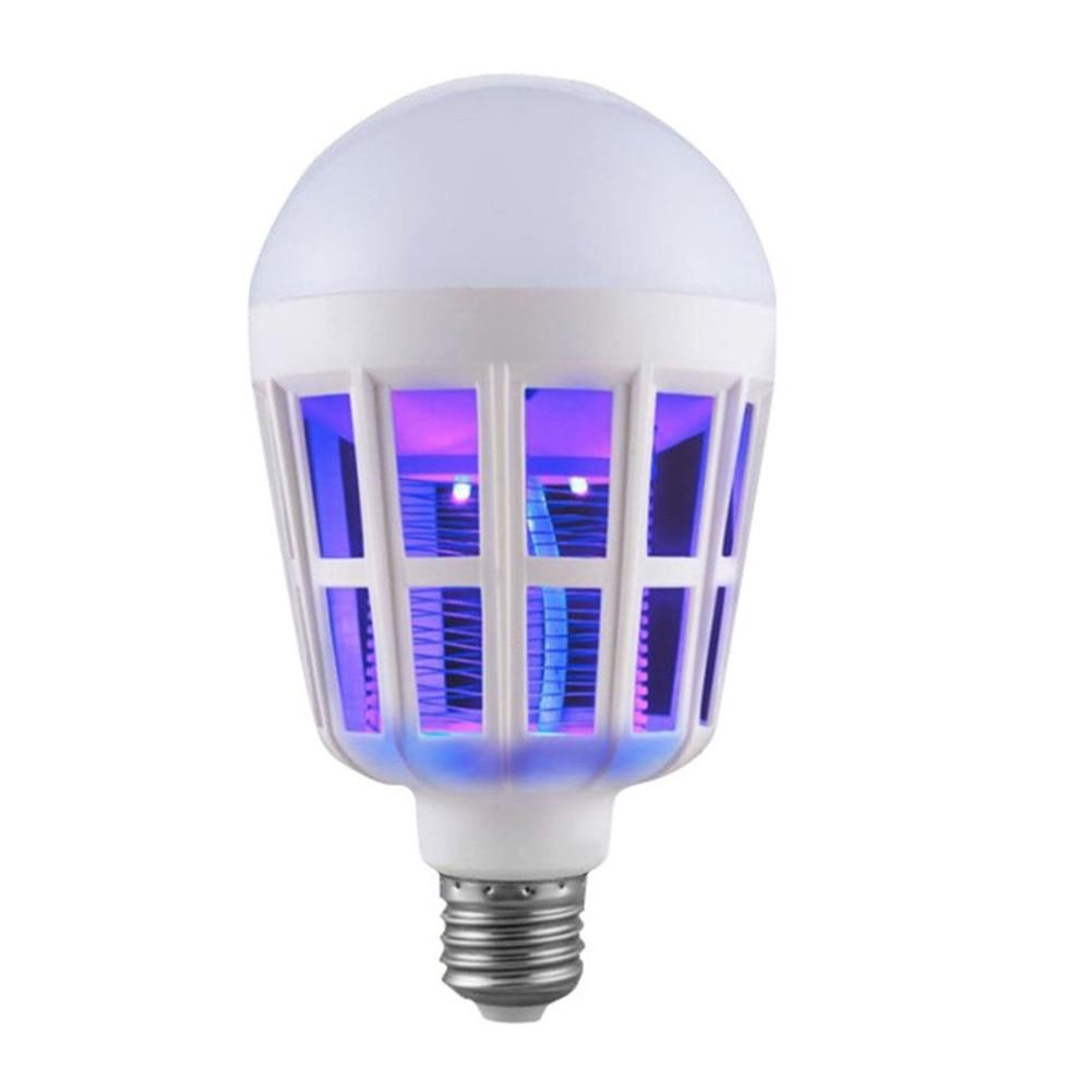 Lampadina elettrica anti-zanzara Lampada a luce UV Lampada anti-zanzare Lampada a doppio uso Lampada a 3 stadi Lampada LED anti zanzara