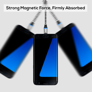 Image 5 - TOPK [5 Pack] RLine R LED Magnetic Micro USB Cable Đối Với Samsung