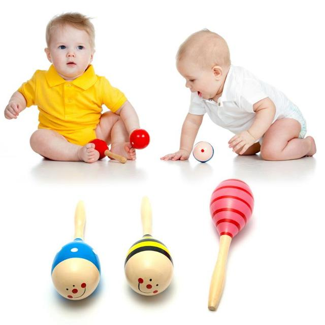 Wooden Rattle for Babies