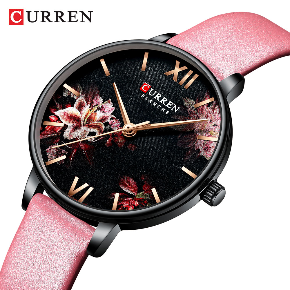 simple women dress watches retro leather female clock Top brand women's fashion mini design wristwatches clock