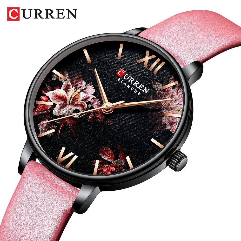 Simple Women Dress Watches Retro Leather Female Clock Top Brand Women's Fashion Mini Design Wristwatches Clock