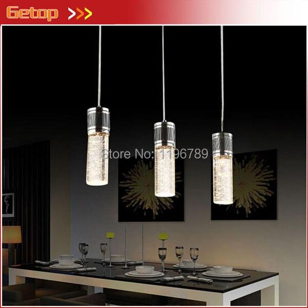 Best Price 3pc/set Lighting Crystal Lamp Modern Brief LED Pendant Lamp Creative Crystal Pendant Lamp Bar Light Free Shipping best price 5pin cable for outdoor printer