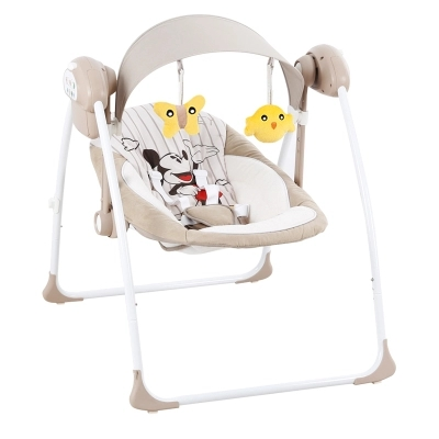 The baby rocking chair swing electric child lounge chair 2017 new babyruler portable baby cradle newborn light music rocking chair kid game swing