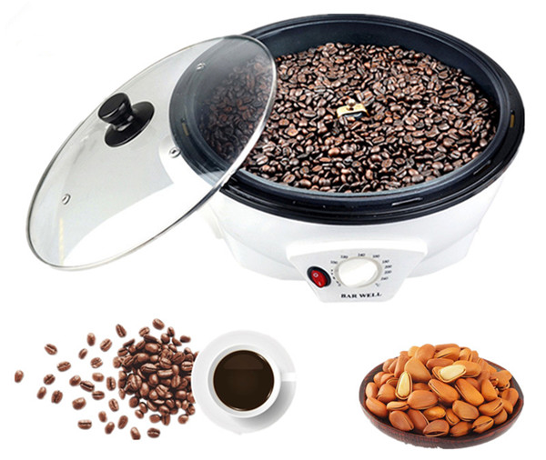 Coffee peanut roaster roasting machine household coffee beans baking machine_