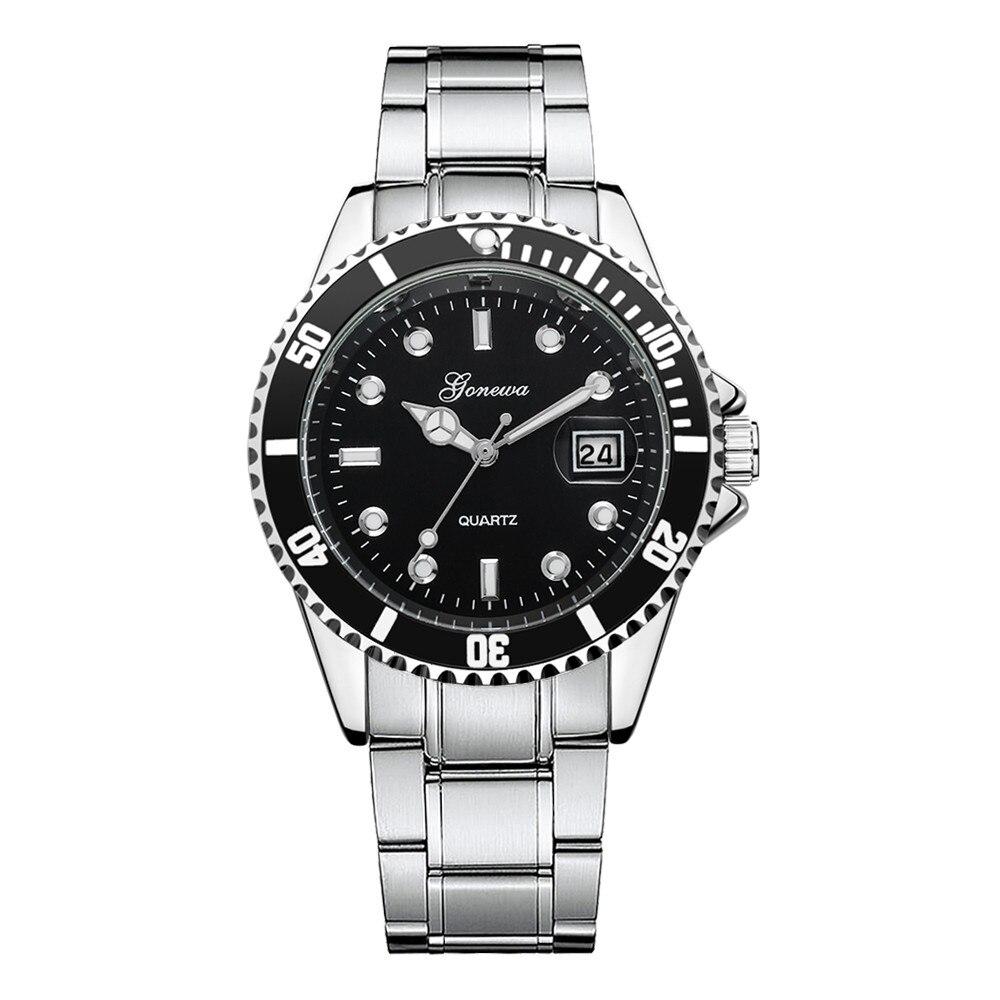 цена на Relogio masculino Brand Men fashion casual watches Military Stainless Steel Date Sport Quartz Analog Wrist Watch Men kol saati
