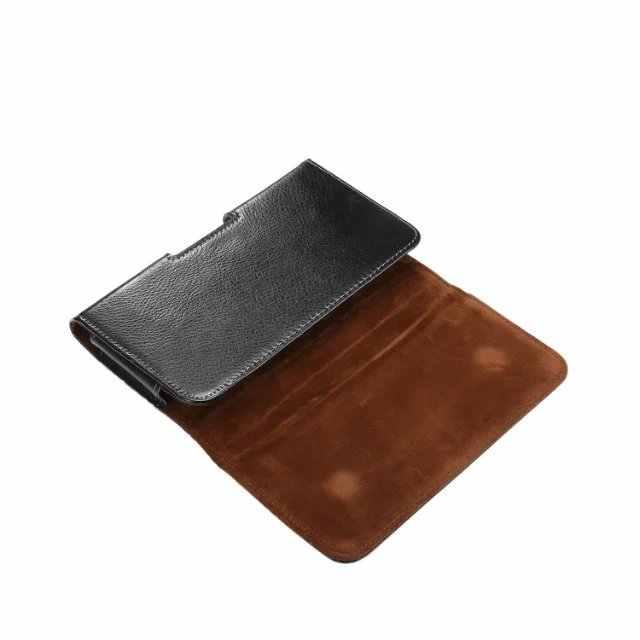 Kılıf Hakiki Deri telefon kılıfı kemer klip kılıf Kapak ASUS ZenFone Max için M1 ZB556KL ZB555KL ROG Telefon ZS600KL ZS572K
