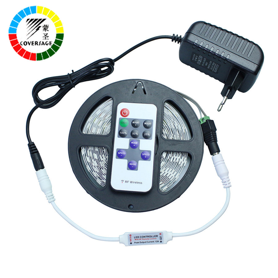 Coversage 5630 Led Strip 5M 300Leds Flexibel Vattentät Ljus Tak - LED-belysning