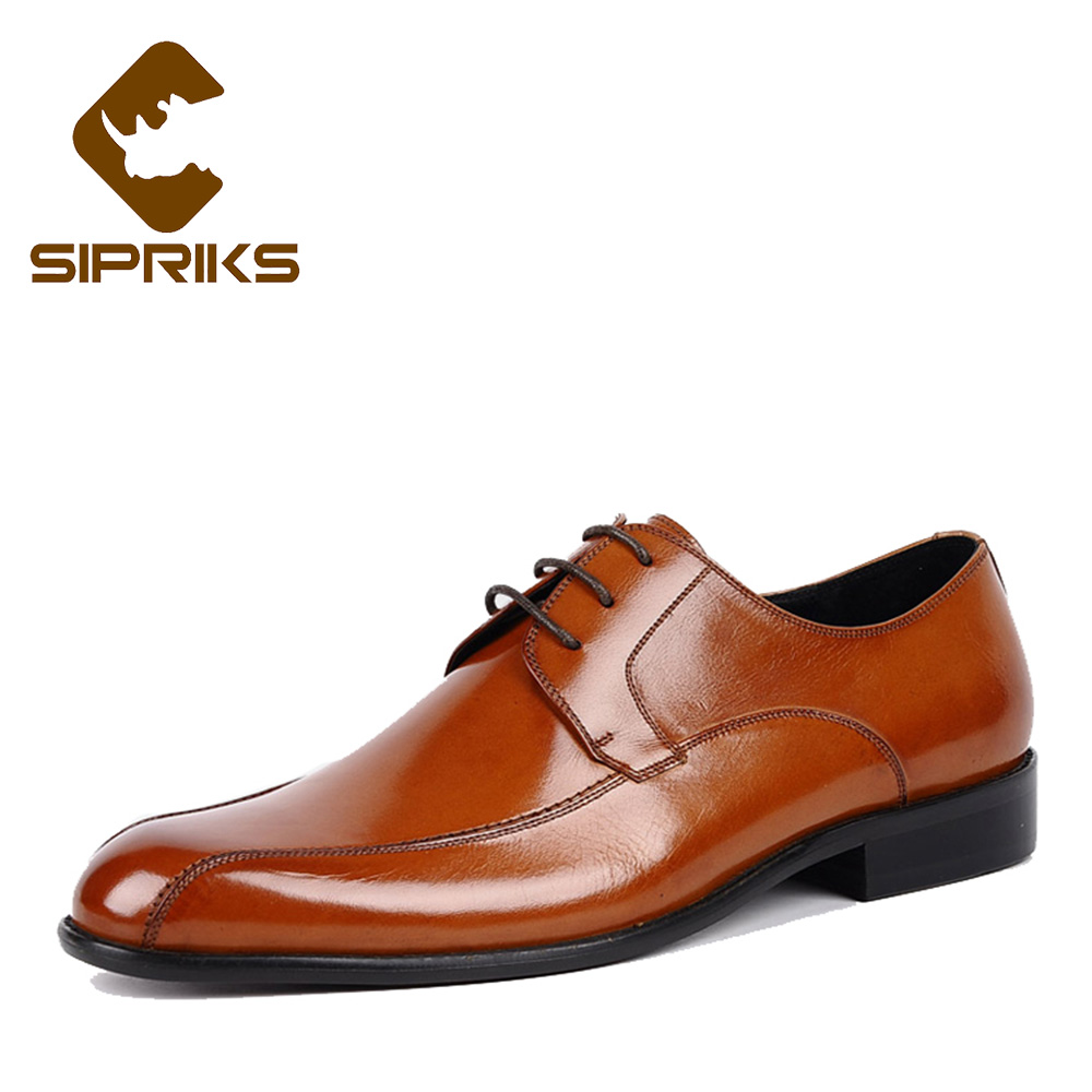 Sipriks luxury brand mens genuine leather dress shoes fashion mens social shoes business office derby shoes male wedding shoes sipriks luxury mens braided leather shoes elegant mens woven derby shoes genuine leather dress shoes boss official business work