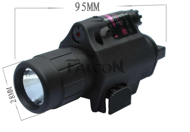 Hunting Tactical Laser Sight Airsoft Red Dot Laser Sight Scope 20mm Rail Mount LED Cree Flashlight