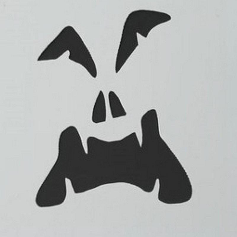 2.8 Inch Hantu Wajah Halloween Kopi Stensil Cookie Latte Art - Dapur, ruang makan, dan bar - Foto 6