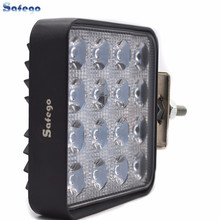 48W led work lights Flood Spot beam  12V 24V ATV SUV Tractor Mine Boat Truck, Lamp 48w IP67 Cree Jeep Work