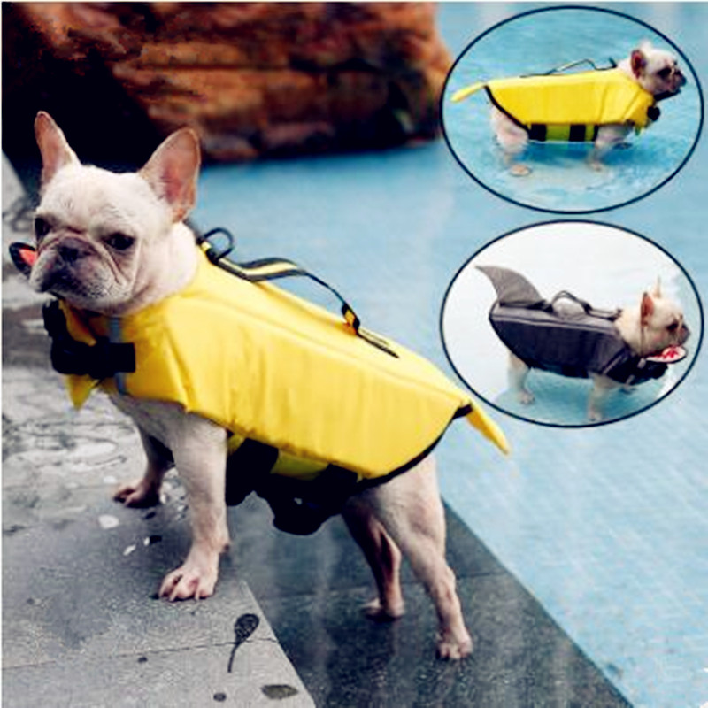 Gilet de sauvetage pour chien gilet de natation Design requin et canard