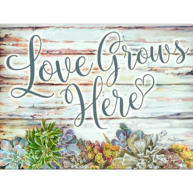 """Love Grows Here"""