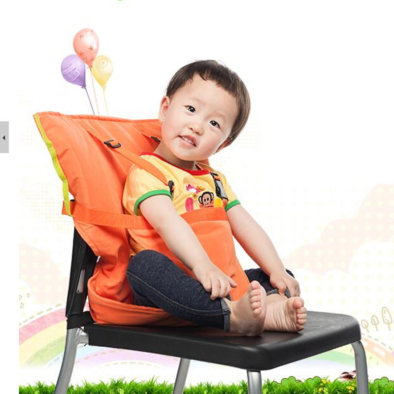 Draagbare Baby Seat Kids Feeding Chair Voor Baby Child Deutschland Infant Safety Belt Booster Seat High Feeding Chair 6 kleuren