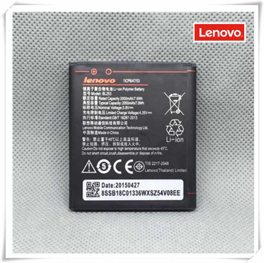 Lenovo BL253 Asli Lenovo A2580 Baterai Lenovo A2580 A2860 Baterai Ponsel BL253 Original Baterai