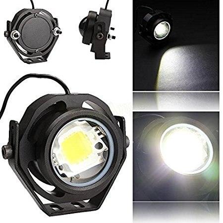 1 Pair 1000LM 10W Car DRL Eagle Eye Light LED Fog Lights Daytime Running  Light Reverse