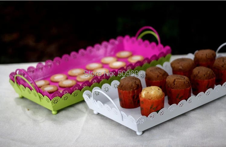 wedding cake cupcake pan white pink green cupcake pan wedding dish wedding 8603
