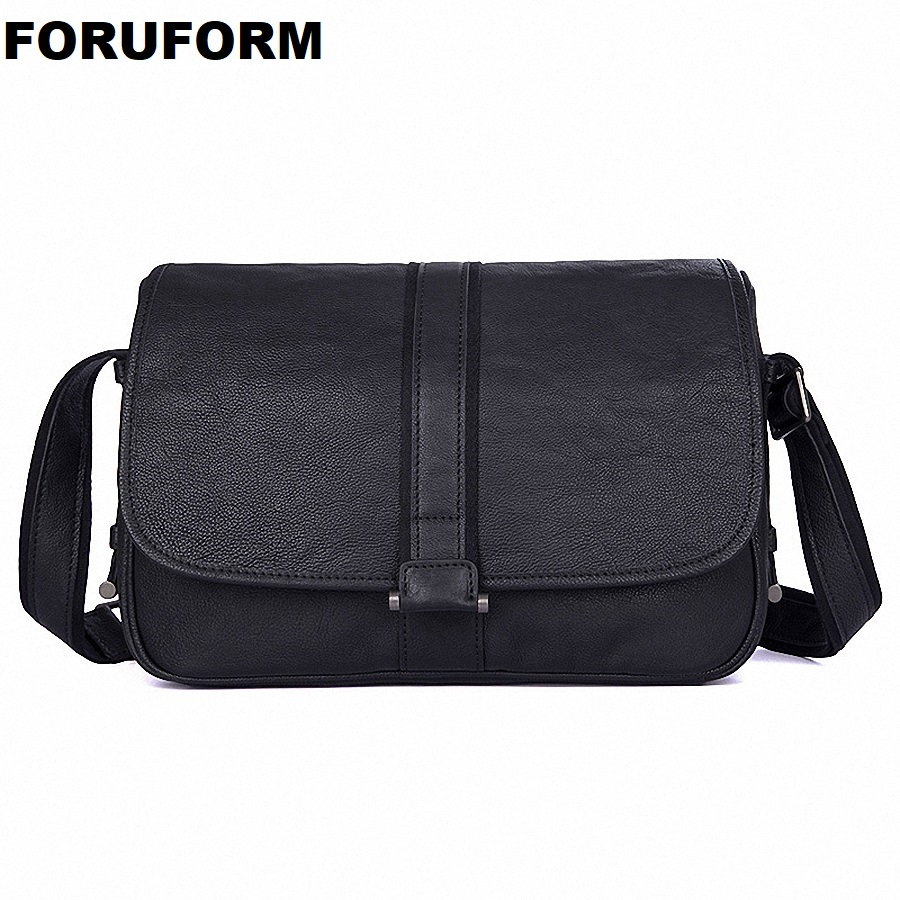 Genuine Leather Shoulder Bags Fashion Men Messenger Bag Large ipad Male Tote Vintage New Crossbody Bags Men's Handbags LI-1990
