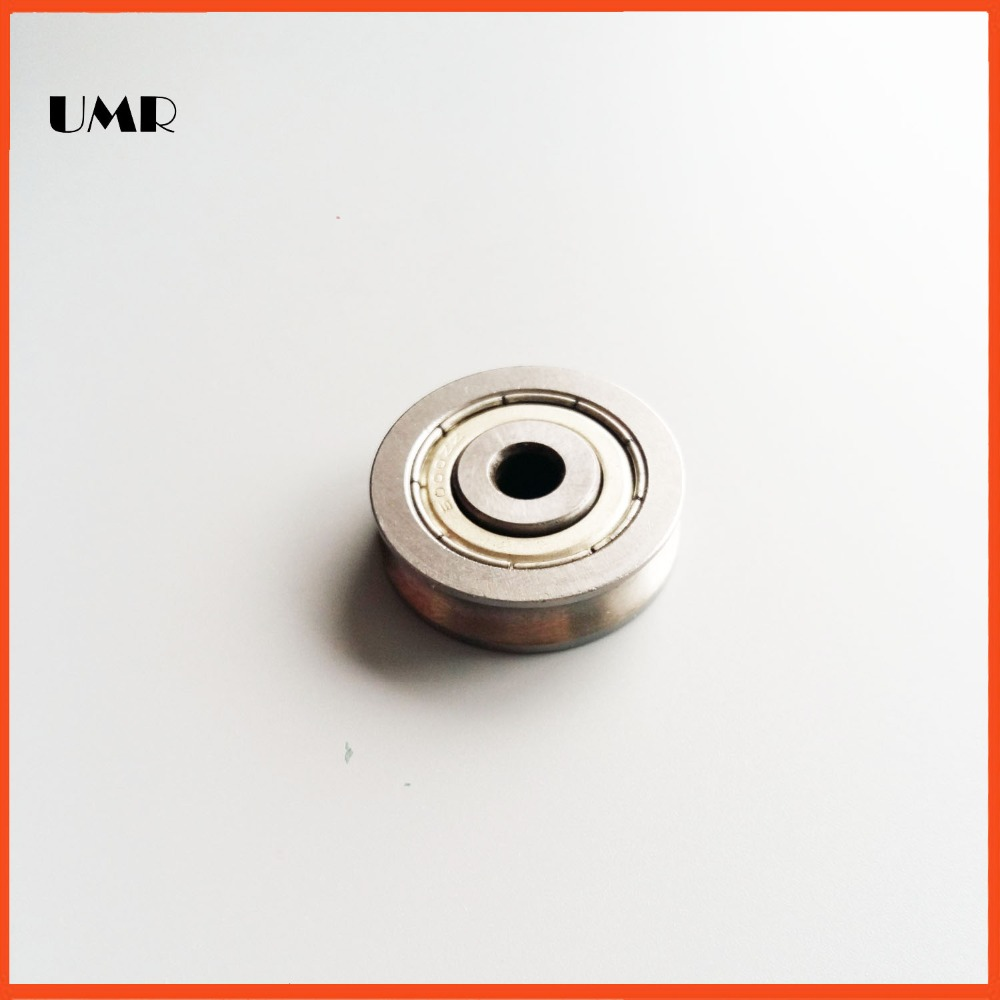 Z5 U/H type Wire rope pulley bearing 6.1*35*7*8.2 stainless steel SU0635 bearings chrome oxide plated steel wire guide pulley for wire industry