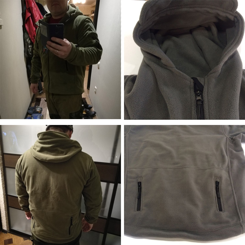 LOMAIYI Militär Tactical Jacket Coat Men 2017 Vinter Warm Army - Herrkläder - Foto 5