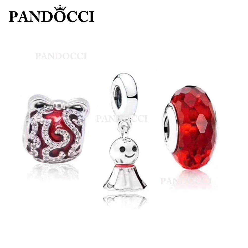 PANDOCCI 100% 925 Sterling Silver Winter Unicorn Charm Sunny Doll Charm Cut Face Glass Bead Set Suitable DIY BraceletPANDOCCI 100% 925 Sterling Silver Winter Unicorn Charm Sunny Doll Charm Cut Face Glass Bead Set Suitable DIY Bracelet