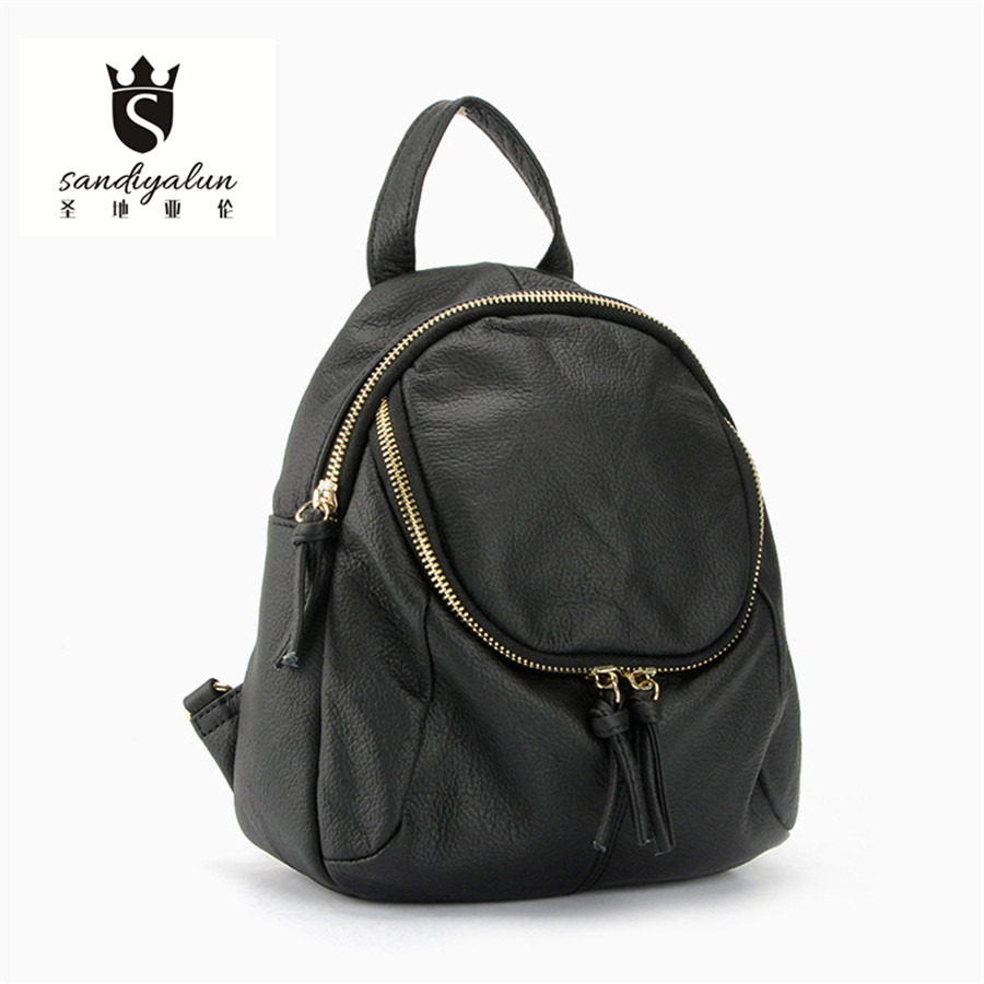 Fashion Women Backpack High Quality Genuine Leather Backpacks For Teenage Girls Bags School Shoulder Bag Female Bagpack