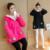 2016 abrigo de invierno las mujeres embarazadas espesar casual Coreano suéter ocasional espesa más la cachemira abrigo