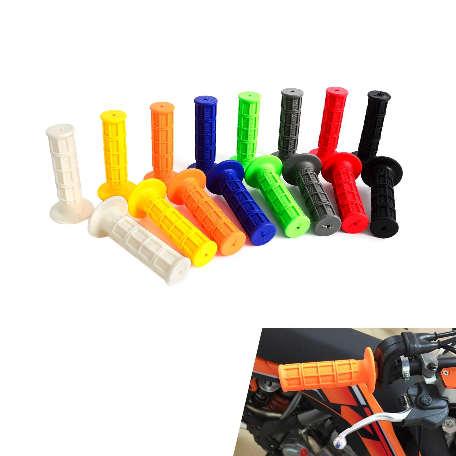 Rubber HandleBar Grip For CR CRF XR YZ WR TTR KX KLX KTM RMZ RMX RM TC TE FC FE ATV Enduro Motocross Pit Dirt Bike Off Road
