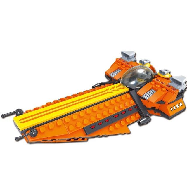 Space Star Wars Blocos de Construção do robô de Star Trek Estrela Tijolo brinquedos Conjuntos de modelos em escala Kit DIY brinquedos playmobil Le go maravilha