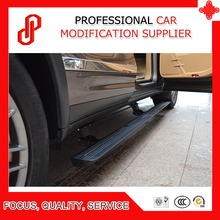 Automatic scaling high quality aluminium alloy Electric pedal side step running board for Cayenne