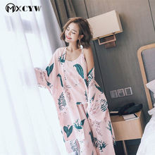 f391c9e7e 2018 Winter Robe Women Pyjamas Set Nightwear Sexy Nightgowns Sleepwear  Homewear Clothes Bathrobe Femme Nightdres Chemise
