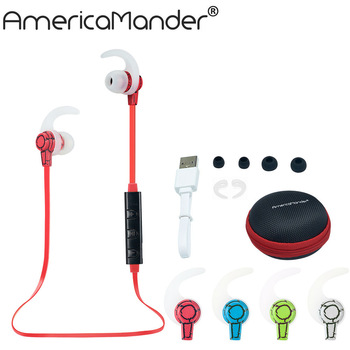 Hot 4.1 Wireless Bluetooth Earphone Bluetooth Headset Headphone Microphone Sport Earphone Headphones for iPhone Android Phone