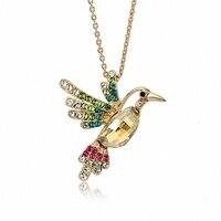 Nowa Sprzedaży Hot Prawdziwe Austriackie Kryształy Dzięcioł Mody Kryształ Wisiorek Ptak Naszyjnik Dla Kobiet Walentynki Prezent 76165