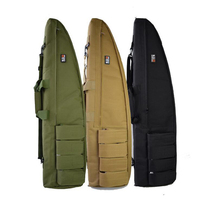 120CM Tactical Heavy Duty Tactical Gun Slip Bevel Carry Bag Rifle Case Shoulder Pouch Hunting Bag