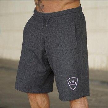 Summer New Loose Cotton Shorts Man