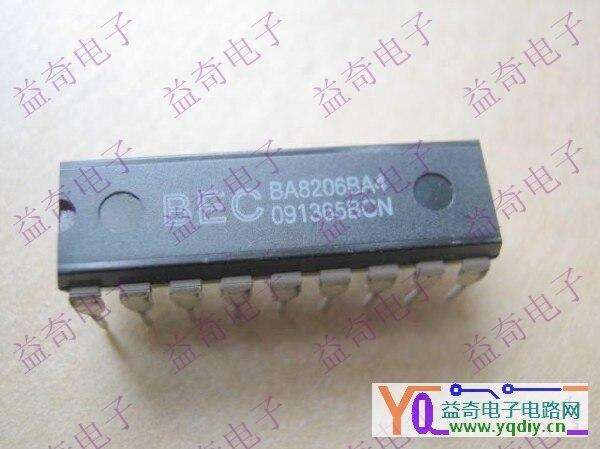 New original remote control fan chip ba8206ba4 sc8206 dip18.