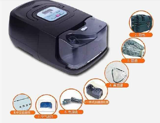 Doctodd Gi Auto CPAP Apap Mesin Pernapasan Kesehatan Apap Ventilator Portable Ventilasi Continuous Positive Airway Pressure