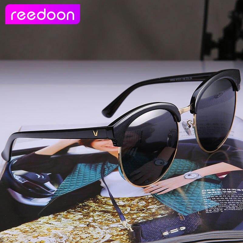REEDOON Klasik Kacamata Polarisasi Separuh Logam Lelaki Wanita Merek - Aksesori pakaian - Foto 3