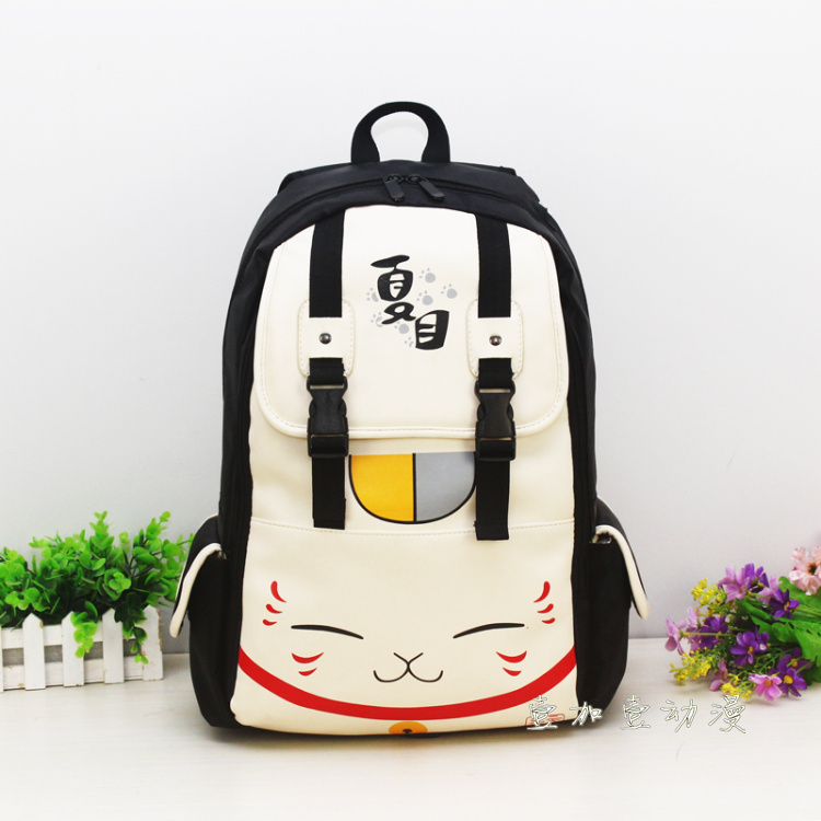 Anime Natsume Yuujinchou Cosplay Shoulder bag cute cartoon kitten student bag birthday gift bag матрас аскона balance lux 70x190