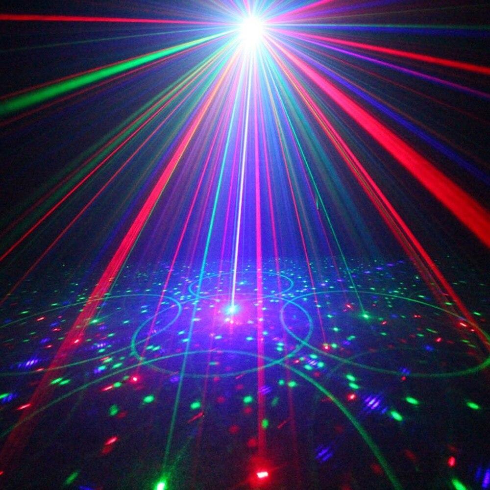 Beste 5 Lens 80 Patronen RG Laser Projector Podiumverlichting Effect ...