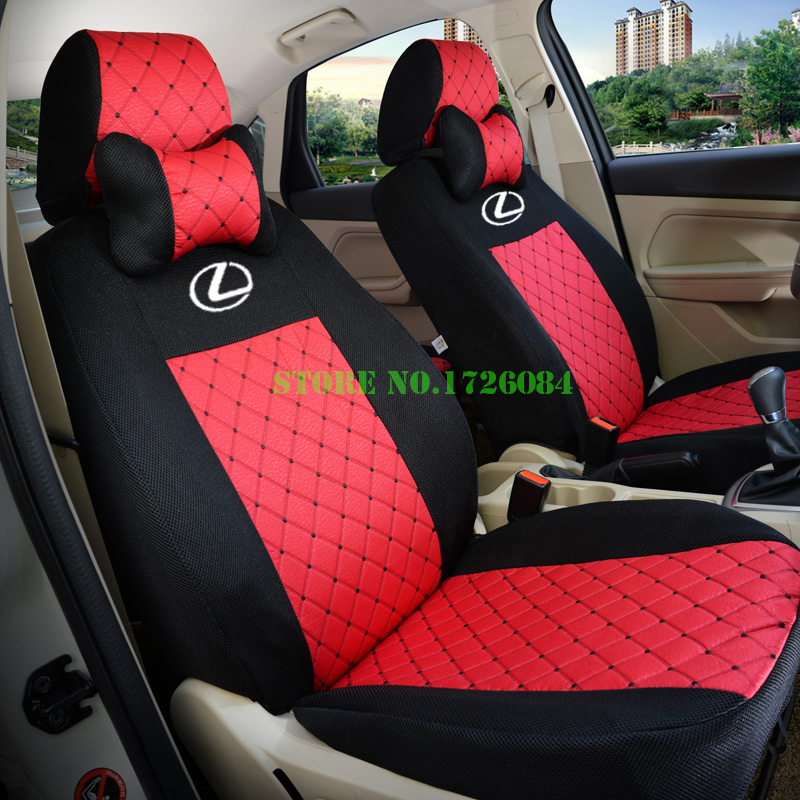 Car seat covers fit Honda HRV full set black//red sport style