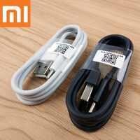 Original xiaomi mi 9t cable cargador usb tipo c 100cm cable de datos de sincronización de carga rápida para mi a2 a1 teléfono móvil f1 mi 9 8 6 mi x 3