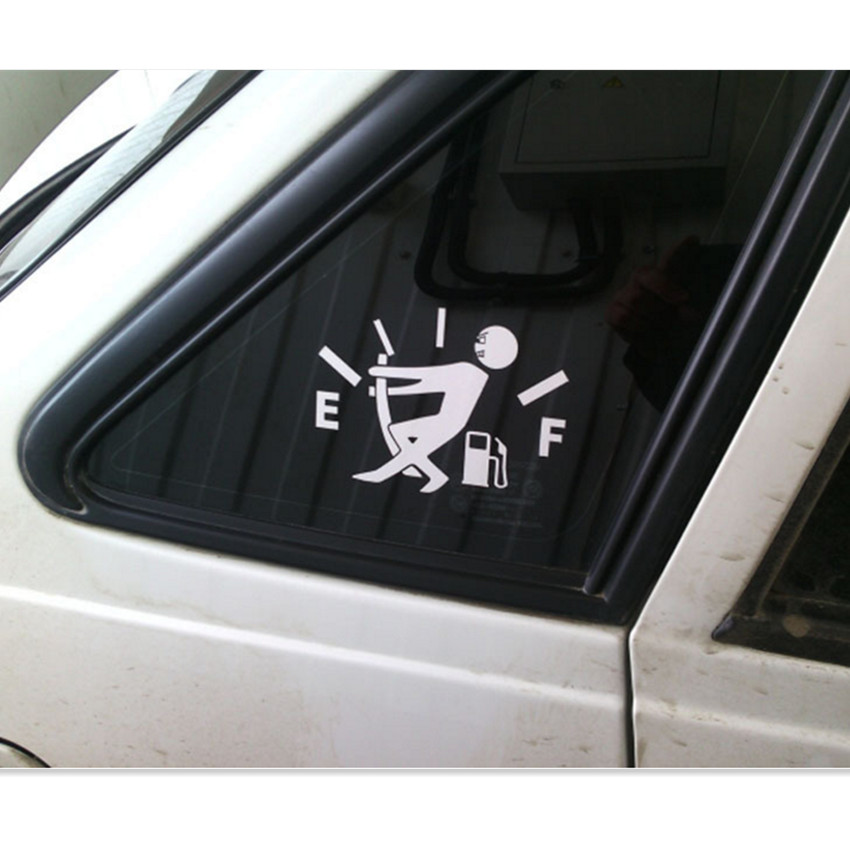 100% Quality Funny Car Sticker Fuel Tank Stickers Decal For Mitsubishi Asx Lancer 10 9 Outlander Pajero I200 Cadillac Cts Srx To Ensure A Like-New Appearance Indefinably
